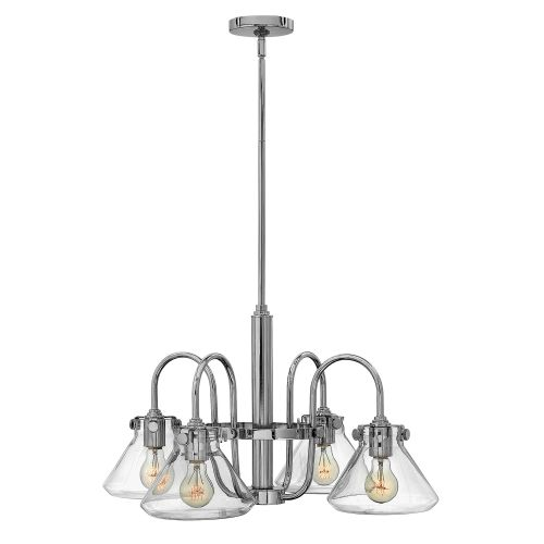 Hinkley HK/CONGRES4/A CM Congress 4Lt Chrome Ceiling Pendant