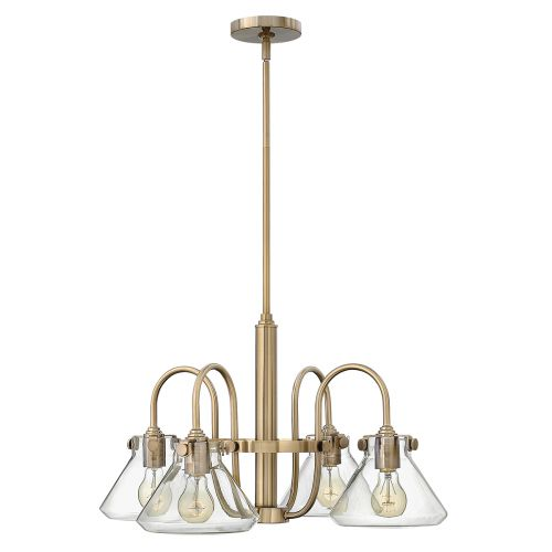 Hinkley HK/CONGRES4/A BC Congress 4Lt Brushed Caramel Ceiling Pendant