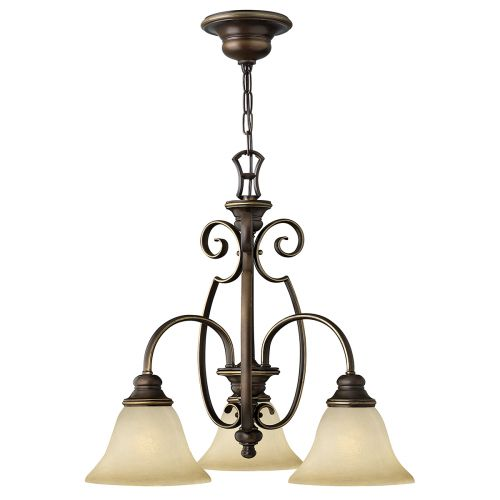 Hinkley HK/CELLO3 Cello 3Lt Antique Bronze Ceiling Pendant