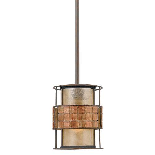 Quoizel QZ/LAGUNA/MP Laguna 1Lt Renaissance Copper Mini Ceiling Pendant