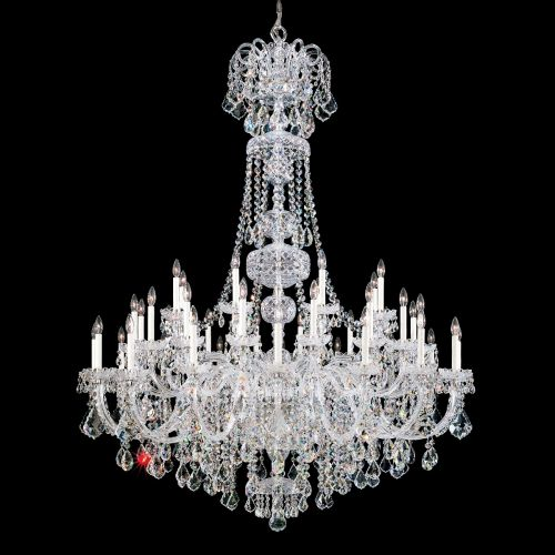 Schonbek 6861 Olde World 45Lt Swarovski Crystal Ceiling Chandelier