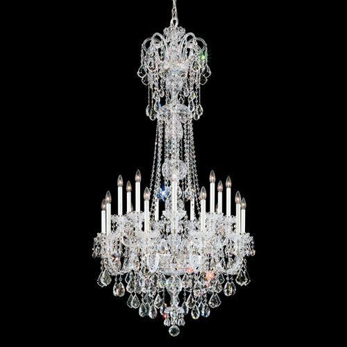 Schonbek 6818 Olde World 20Lt Swarovski Crystals Ceiling Chandelier