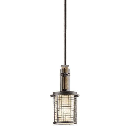 Kichler KL/AHRENDALE/MP Ahrendale 1Lt Anvil Iron Ceiling Mini Pendant