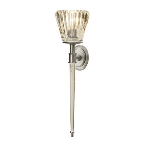 Elstead Agatha Wall Light Brushed Nickel ELS/BATH/AGATHA BN