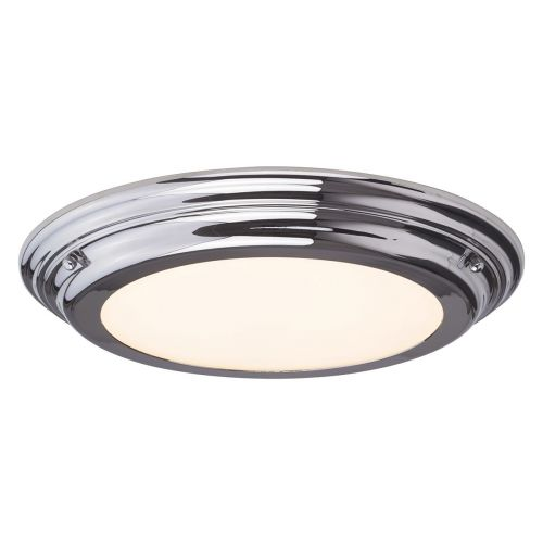 Elstead Welland Flush Light Polished Chrome ELS/WELLAND/F PC