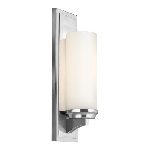 Feiss Amalia 1lt Bathroom Wall Light Polished Chrome ELS/FE/AMALIA1/LBATH