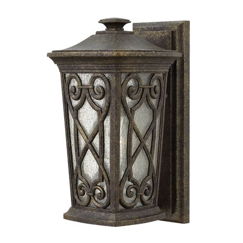 Hinkley Enzo Small Outdoor Wall Lantern Autumn ELS/HK/ENZO2/S Die Cast Aluminium