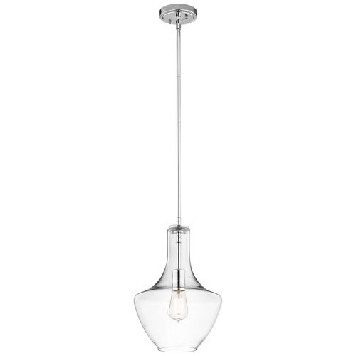 Kichler Everly 1lt Small Pendant Chrome ELS/KL/EVERLY/P/S CH
