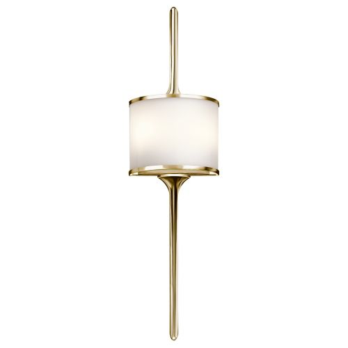 Kichler Mona 2lt Wall Light Polished Brass ELS/KL/MONA/L PB