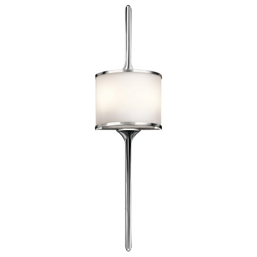 Kichler Mona 2lt Wall Light Polished Chrome ELS/KL/MONA/L PC