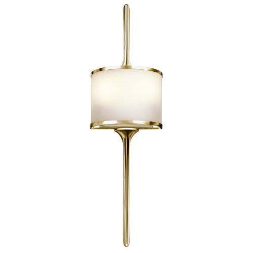 Kichler Mona 2lt Wall Light Polished Brass ELS/KL/MONA/S PB