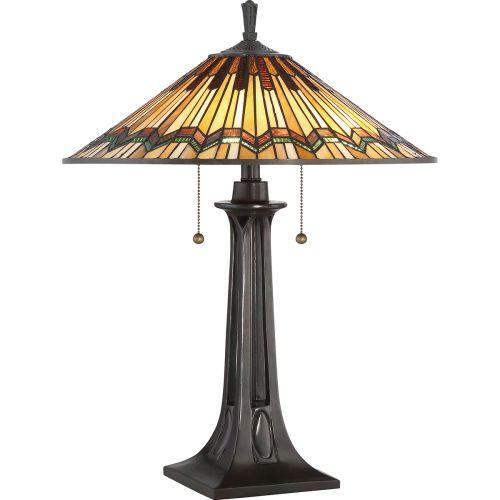 Quoizel Alcott Table Lamp Valiant Bronze ELS/QZ/ALCOTT/TL