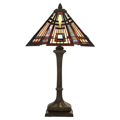 Quoizel Classic Craftsman Table Lamp Valiant Bronze ELS/QZ/CLASSICCRF/TL
