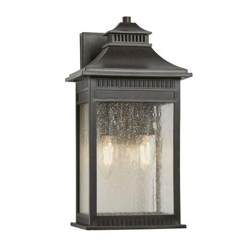 Quoizel Livingston Medium Outdoor Wall Lantern Imperial Bronze ELS/QZ/LIVINGSTON2/M