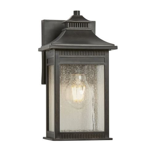 Quoizel Livingston Small Outdoor Wall Lantern Imperial Bronze ELS/QZ/LIVINGSTON2/S