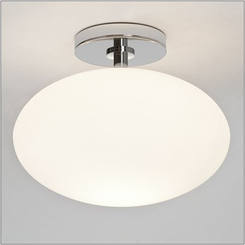 Astro Zeppo Polished Chrome Bathroom Ceiling Light 0830