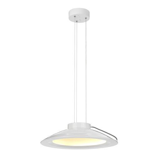 Elstead Europa Large LED Pendant White Painted EUROPA/P/C