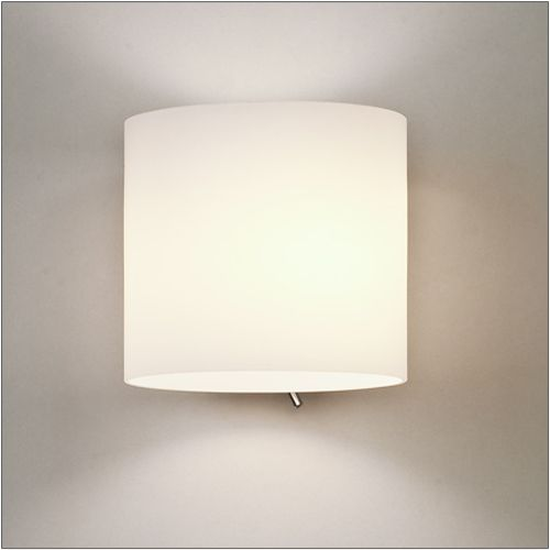 Astro Luga Switched White Opal Glass Wall Light 1074001
