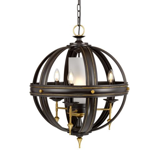 Elstead Regal 4Lt Chandelier Gold REGAL4