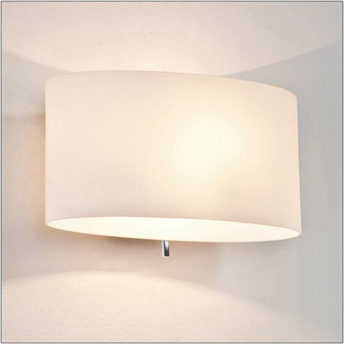 Astro Tokyo Switched White Opal Glass Wall Light 0569