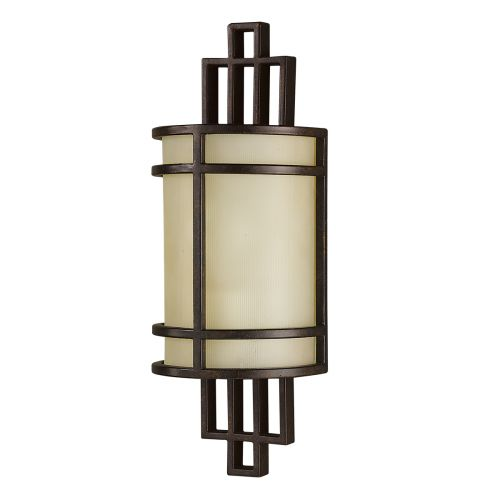 Feiss Fusion 1Lt Wall Light Grecian Bronze FE/FUSION1