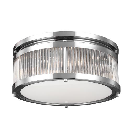 Feiss Paulson 4Lt Flush Mount Chrome FE/PAULSON/F/M