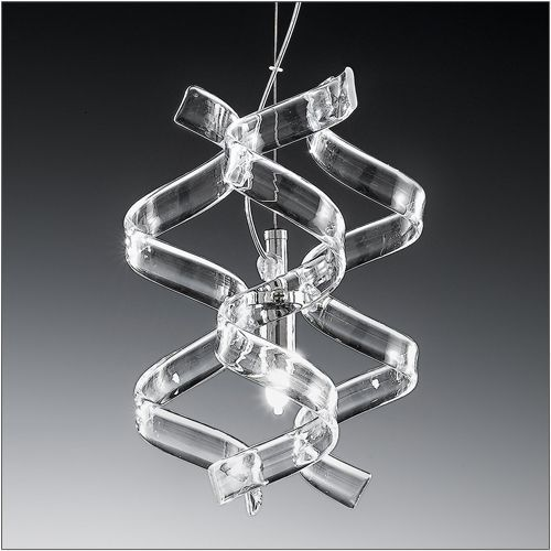 Metal Lux Astro Single Crystal Pendant 206.511.01
