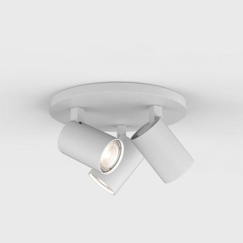 Astro 6143 Ascoli 3Lt Textured White Ceiling Spotlight