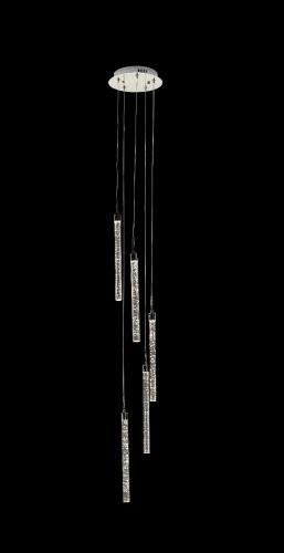 Avivo Cascade PD1609-5A CH 5 Light Pendant LED Chrome Ceiling Fitting