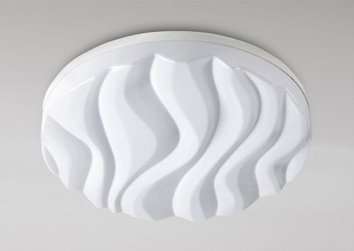 Mantra M5040 Arena Ceiling Wall Light Large Round 45W LED IP44 3000K 4050lm Matt Acrylic