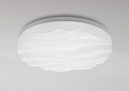 Mantra M5041 Arena Ceiling Wall Light Medium Round 36W LED IP44 3000K 3240lm Matt Acrylic