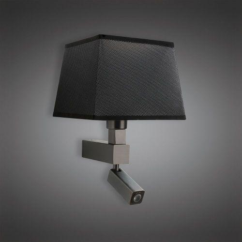 Mantra M5233 Bahia Wall Lamp 1 Light No Shade E27 Reading Light 3W LED Bronze 4000K 200lm