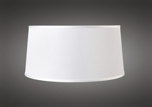Mantra M5302 Habana White Round Shade 410 450mm x 215mm Suitable for Pendant Lights
