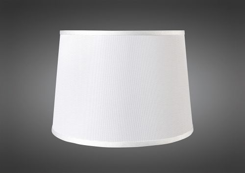 Mantra M5308 Habana White Round Shade 370mm x 205mm Suitable for Pendant Lights