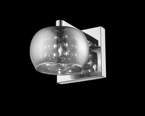 Impex CFH606091/01/WB/CH Deni 1Lt Chrome Wall Light