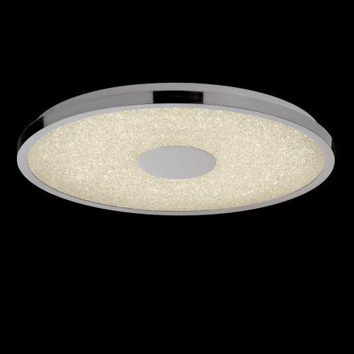 Mantra M5930 Centara LED 3000K-6500K Polished Chrome Ceiling Flush 48CM