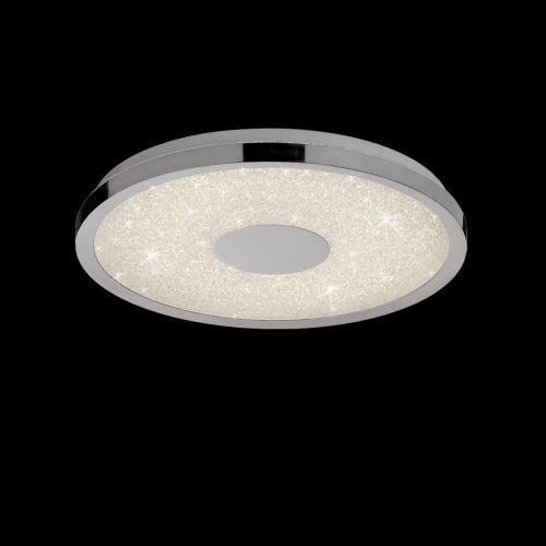 Mantra M5931 Centara LED 3000K-6500K Polished Chrome Ceiling Flush 38CM
