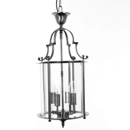 Impex LG07000/11/PB Colchester 4Lt Polished Brass Chain Indoor Lantern