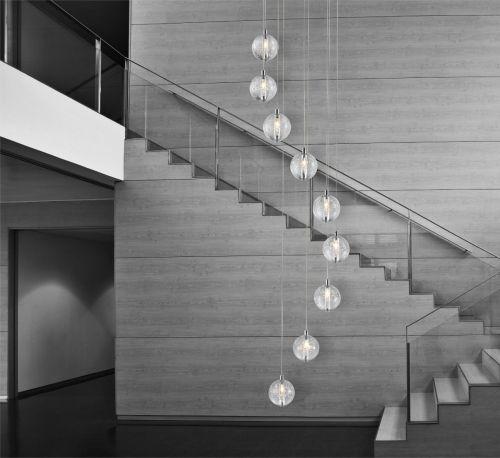 Avivo Bubbles PD1302-9A CH/CL 9 Light Pendant Chrome Clear Glass Ceiling Fitting