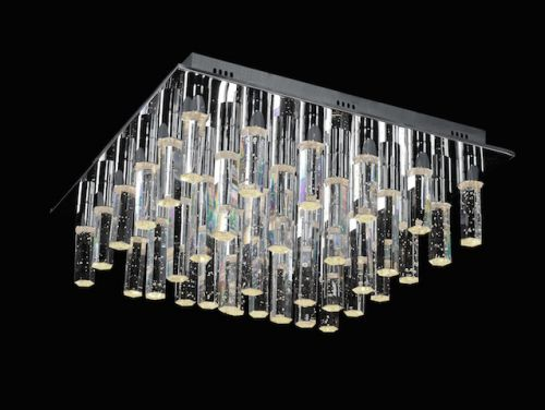 Avivo Cascade FX1609-36B CH 36 Light LED Flush Polished Chrome Ceiling Fitting