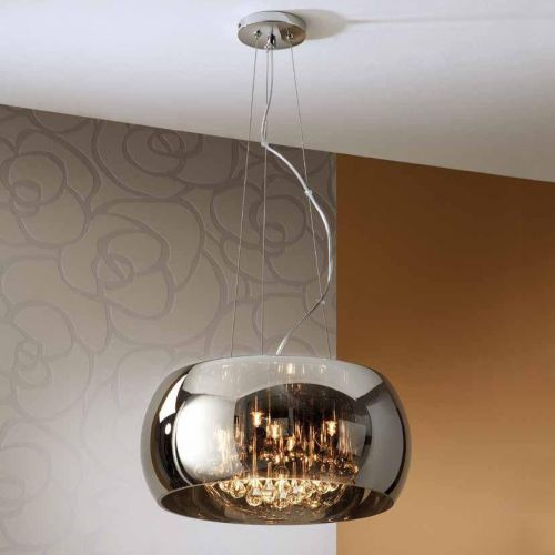 Schuller Argos 508718 Ceiling Pendant 5 Light Chrome