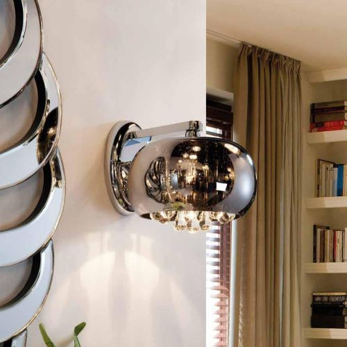 Schuller Argos 509327 Single Wall Light Chrome