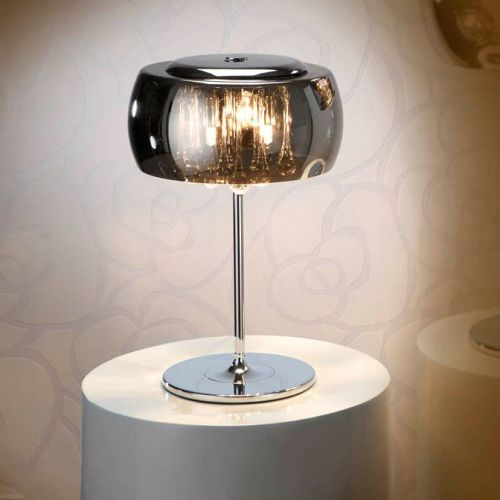 Schuller Argos 508516UK Table Lamp 3 Light Chrome