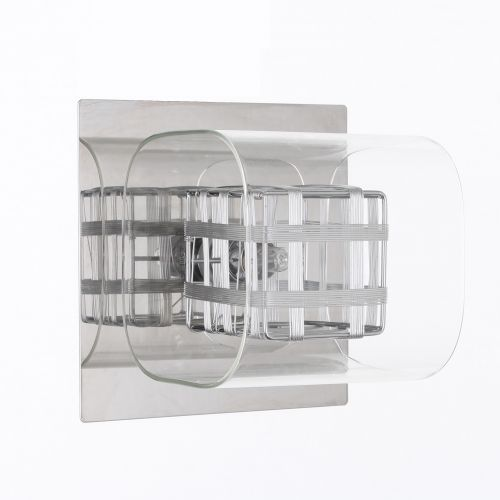 Impex Avignon PGH01515/01/WB/CH 1 Light Wall Light Chrome Fitting