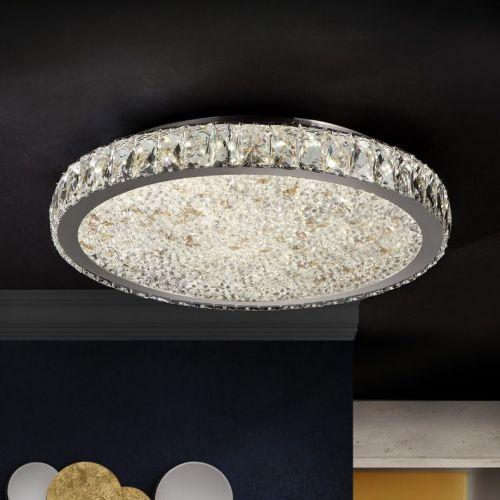 Schuller Dana 456120 LED Ceiling Flush Light Fitting Chrome