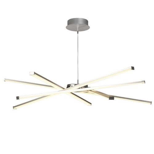 Mantra Star M5915 LED Ceiling Pendant Light Silver