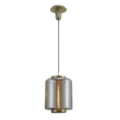 Mantra Jarras M6195 Ceiling Pendant 1 Light Matt Gold