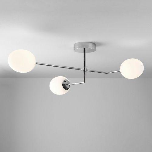 Astro Kiwi 1390005 LED Ceiling Semi-Flush 3 Light Polished Chrome