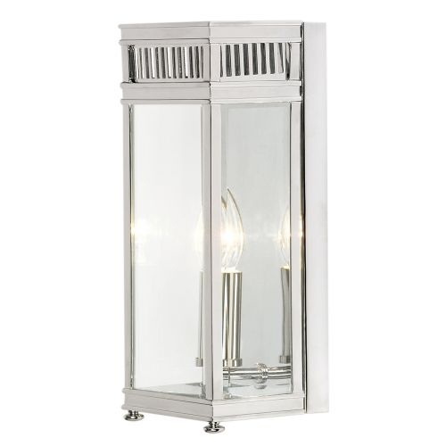 Elstead Holborn 1 Light Outdoor Wall Lantern HL7/S PC Polished Chrome