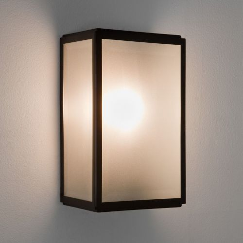 Astro Homefield Sensor 1095011 Outdoor Single PIR Wall Light Matt Black